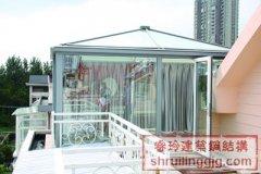 上海钢结构阳光玻璃房