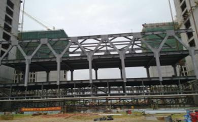 钢结构连廊_钢结构连廊